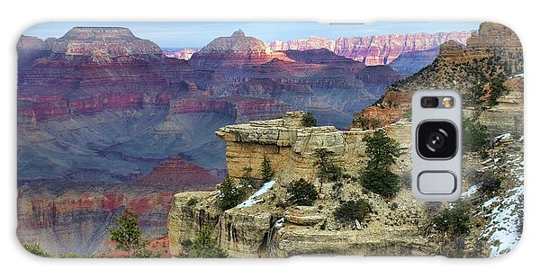 Yavapai Point Sunset Galaxy Case