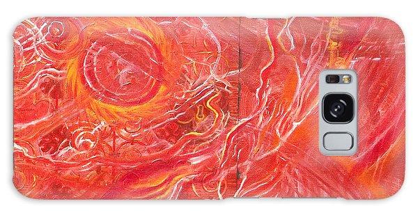 Yaweh El Shaddai Bottom Canvas Detail Galaxy Case