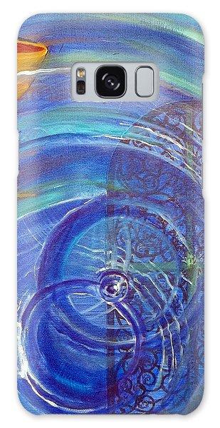 Yaweh El Shaddai Right Canvas Detail Galaxy Case