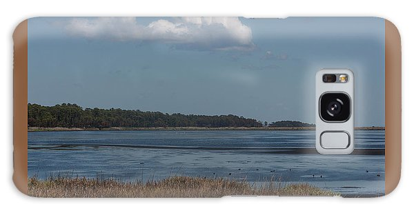 Yawkey Wildlife Reguge - View From The Causeway Galaxy Case by Suzanne Gaff