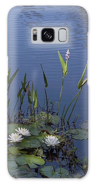 Yawkey Wildlife Reguge Water Lilies With Rare Plant Galaxy Case by Suzanne Gaff