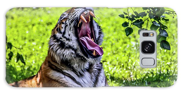 Yawning Tiger Galaxy Case