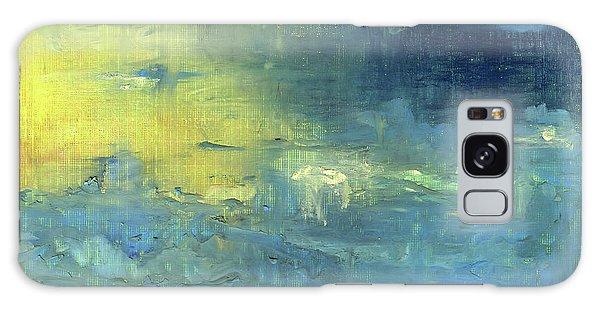 Yearning Tides Galaxy Case by Michal Mitak Mahgerefteh