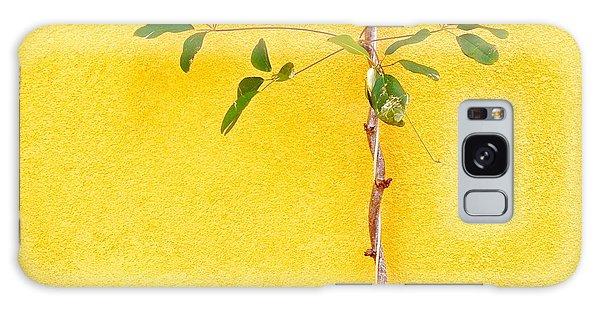 Galaxy Case - Yellow #2 by Julie Gebhardt