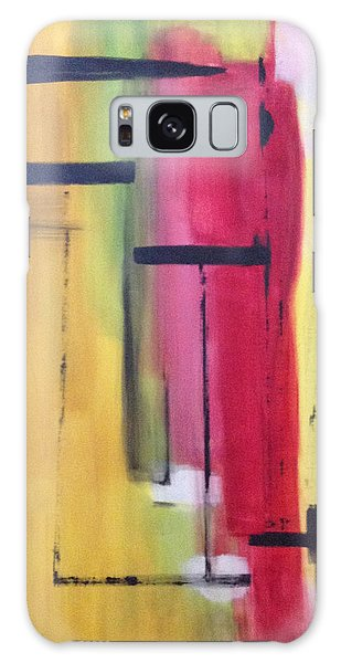 Yellow Abstract Galaxy Case by Patricia Cleasby