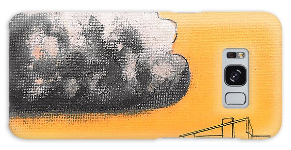 Yellow Alex Dark Cloud Galaxy Case