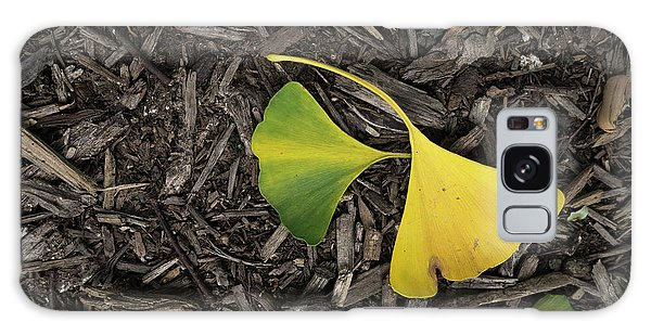 Yellow And Green Gingko Galaxy Case