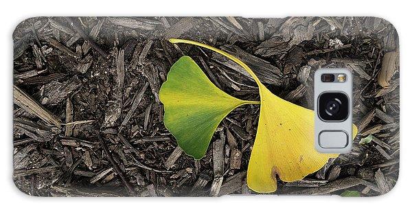 Yellow And Green Gingko Galaxy Case