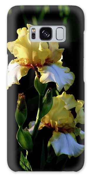 Yellow And White Irises 6681 H_2 Galaxy Case