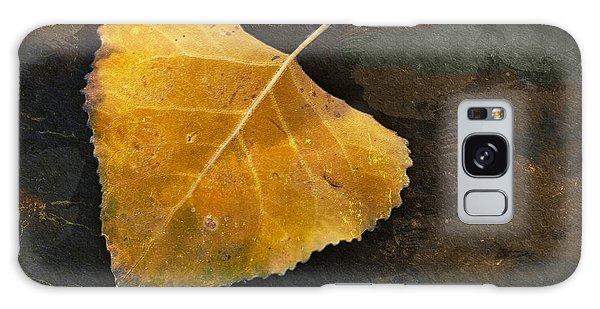 Yellow Autumn Leaf Galaxy Case