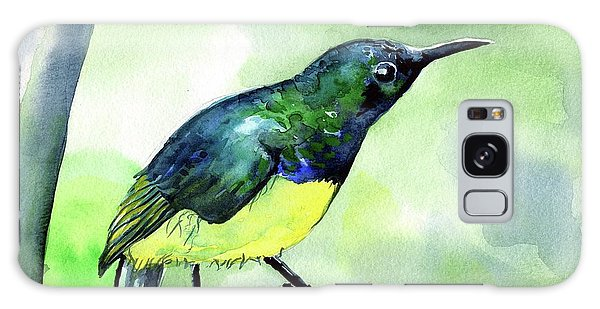 Yellow Bellied Sunbird Galaxy Case