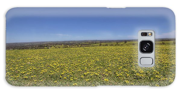 Yellow Blanket II Galaxy Case by Douglas Barnard