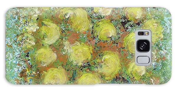 Yellow Bouquet Galaxy Case