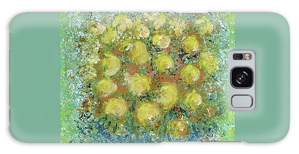 Yellow Bouquet Galaxy Case