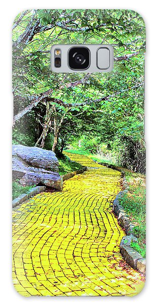 Yellow Brick Road Galaxy Case