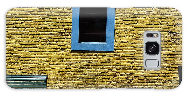 Yellow Brick Window Galaxy Case