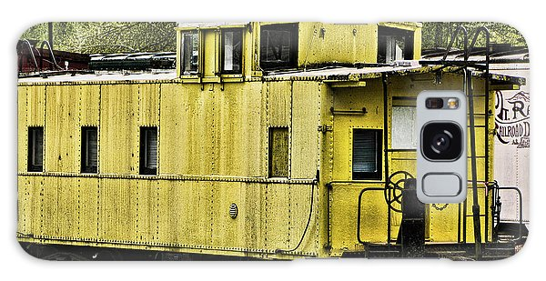 Yellow Caboose Galaxy Case