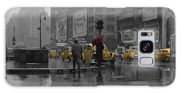 Architecture Galaxy Case - Yellow Cabs New York by Andrew Fare