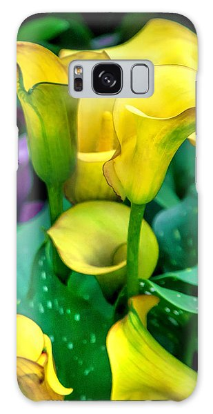 Calendar Galaxy Case - Yellow Calla Lilies by Az Jackson