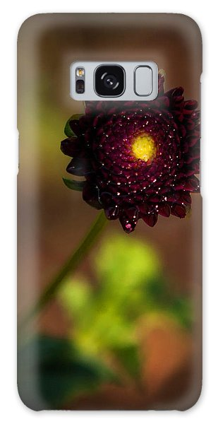 Yellow Center Galaxy Case by Cherie Duran