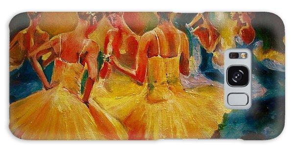 Yellow Costumes Galaxy Case by Khalid Saeed