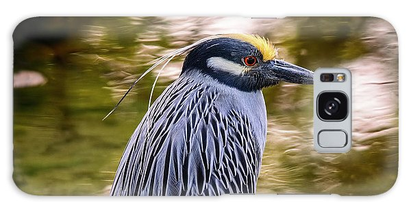 Galaxy Case featuring the photograph Yellow-crowned Night-heron by Steven Sparks