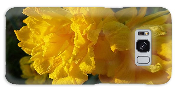 Yellow Daffodils Galaxy Case by Jean Bernard Roussilhe