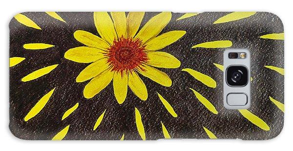 Yellow Daisy Galaxy Case