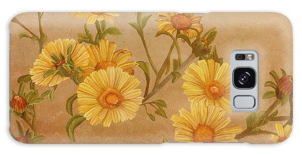 Yellow Daisies Galaxy Case