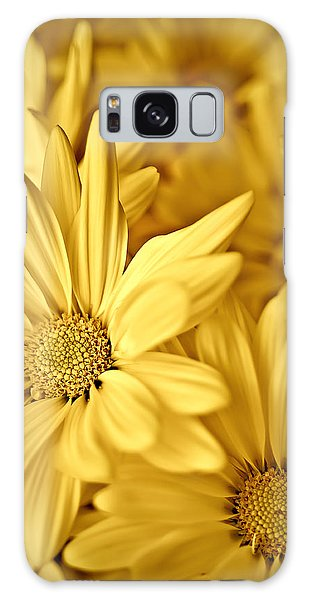 Yellow Daisies Galaxy Case