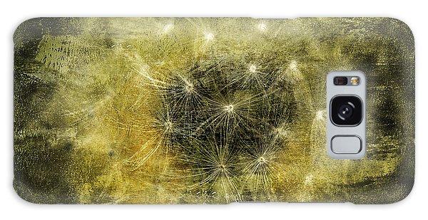 Yellow Dandelion Fluff Galaxy Case