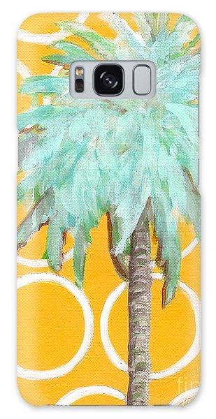 Yellow Delilah Palm Galaxy Case