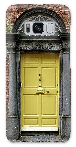 Yellow Door Galaxy Case