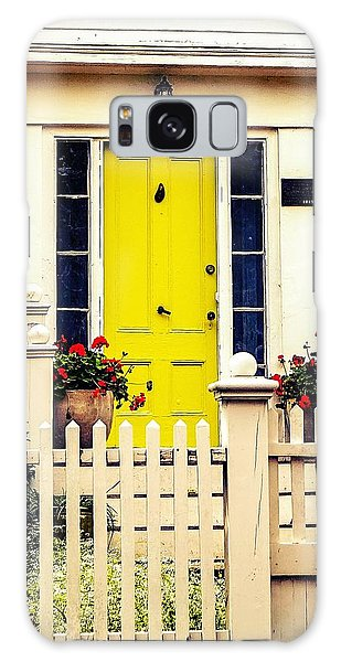Yellow Door Galaxy Case