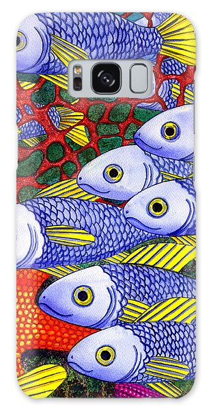Yellow Fins Galaxy Case