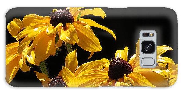 Yellow Flower 2 Galaxy Case