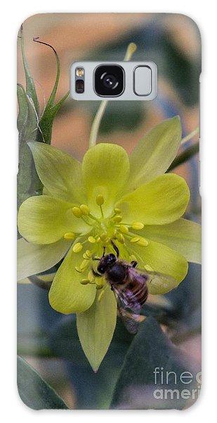 Yellow Flower 5 Galaxy Case