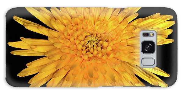 Yellow Flower Macro Galaxy Case