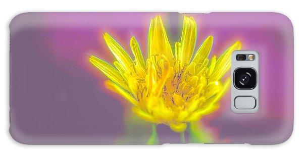 Yellow Flower Galaxy Case