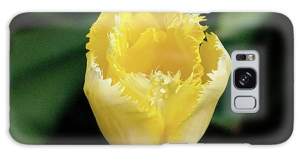 Yellow Fringe Tulip Galaxy Case