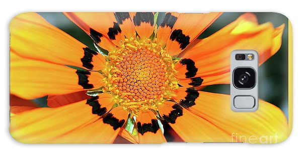 Galaxy Case featuring the photograph Yellow Gazania By Kaye Menner by Kaye Menner