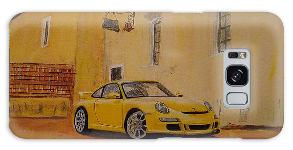Yellow Gt3 Porsche Galaxy Case