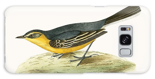 Song Bird Galaxy Case - Yellow Headed Wagtail by English School