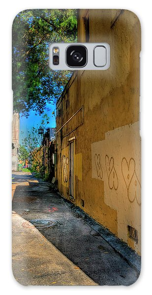 Motor City Galaxy Case - Yellow Hearts by Marvin Spates