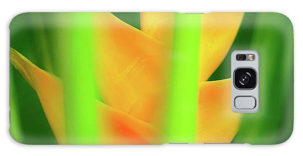 Yellow Heliconia - Tropical Hawaii - 957 Galaxy Case