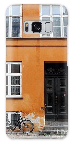 The Orange House Copenhagen Denmark Galaxy Case