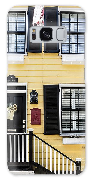 Yellow House Galaxy Case