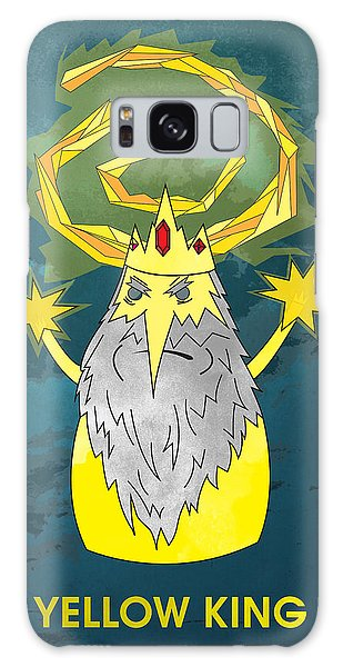 Yellow King True Detective Adventure Time Galaxy Case
