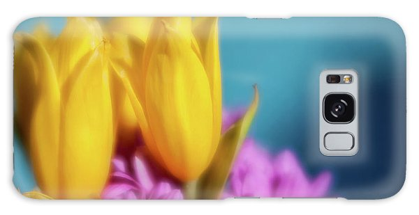Yellow Lily Galaxy Case