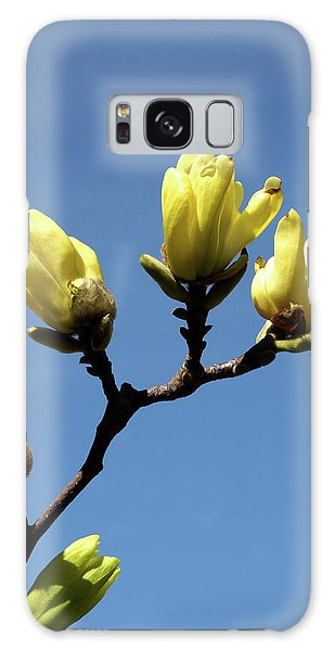 Yellow Magnolia Galaxy Case